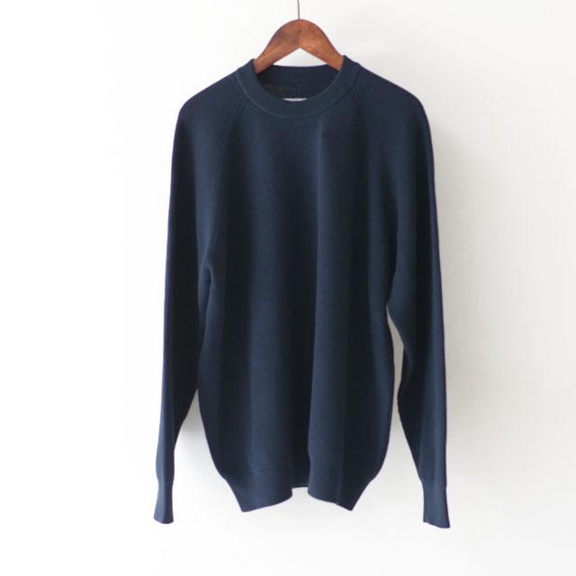 DELICIOUS [デリシャス] Cotton Crew Sweater [DN4335] コットンクルーセーター・五泉ニット・コットンニット・ミリタリーニット・MEN\'S_f0051306_12071162.jpg