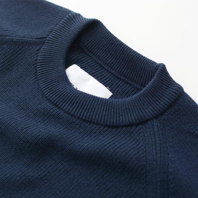 DELICIOUS [デリシャス] Cotton Crew Sweater [DN4335] コットンクルーセーター・五泉ニット・コットンニット・ミリタリーニット・MEN\'S_f0051306_12071188.jpg