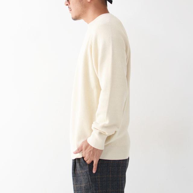 DELICIOUS [デリシャス] Cotton Crew Sweater [DN4335] コットンクルーセーター・五泉ニット・コットンニット・ミリタリーニット・MEN\'S_f0051306_12071193.jpg