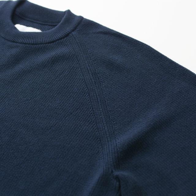 DELICIOUS [デリシャス] Cotton Crew Sweater [DN4335] コットンクルーセーター・五泉ニット・コットンニット・ミリタリーニット・MEN\'S_f0051306_12071214.jpg