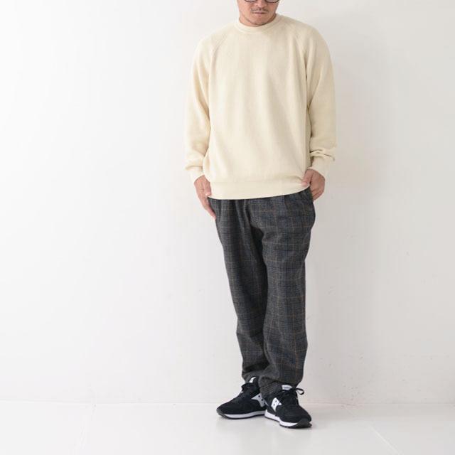 DELICIOUS [デリシャス] Cotton Crew Sweater [DN4335] コットンクルーセーター・五泉ニット・コットンニット・ミリタリーニット・MEN\'S_f0051306_12071234.jpg