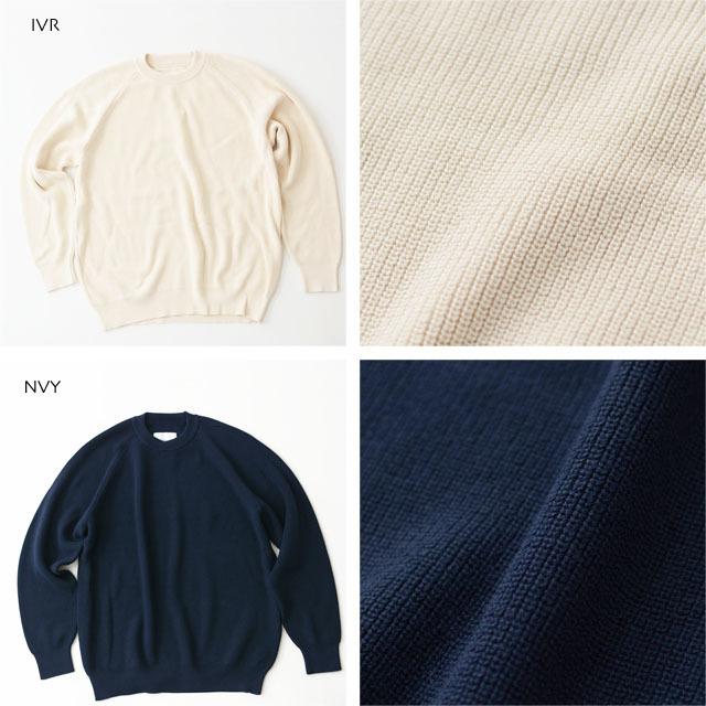DELICIOUS [デリシャス] Cotton Crew Sweater [DN4335] コットンクルーセーター・五泉ニット・コットンニット・ミリタリーニット・MEN\'S_f0051306_12071240.jpg