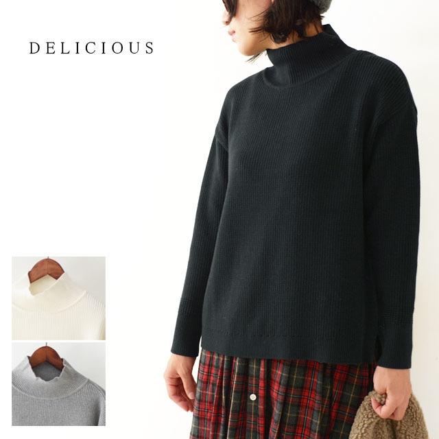 DELICIOUS [デリシャス] Ladie\'s High-necked Sweater [DN4435] ハイネックセーター・コットンセーター・五泉ニット LADY\'S_f0051306_12194093.jpg
