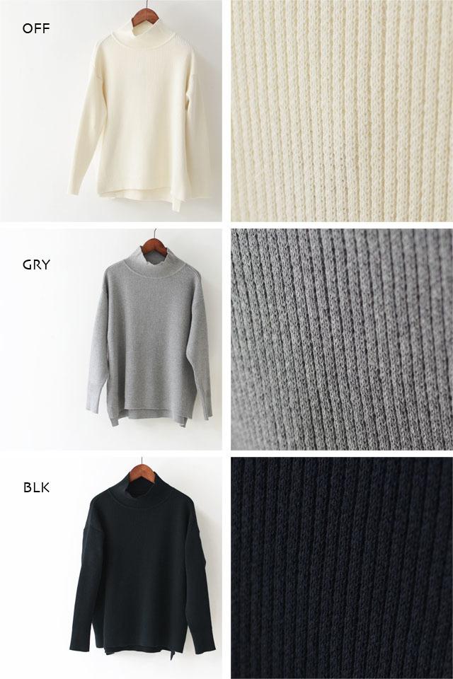 DELICIOUS [デリシャス] Ladie\'s High-necked Sweater [DN4435] ハイネックセーター・コットンセーター・五泉ニット LADY\'S_f0051306_12194132.jpg