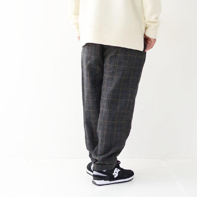 GRAMICCI [グラミチ] WOOL BLEND TUCK TAPERED PANTS [GMP-19F010] ウールブレンドタックテーパードパンツ・ワイドパンツ・ウールパンツ・MEN\'S_f0051306_13291510.jpg