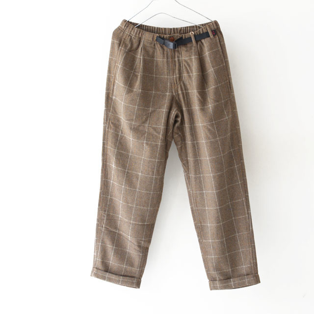 GRAMICCI [グラミチ] WOOL BLEND TUCK TAPERED PANTS [GMP-19F010] ウールブレンドタックテーパードパンツ・ワイドパンツ・ウールパンツ・MEN\'S_f0051306_13291550.jpg