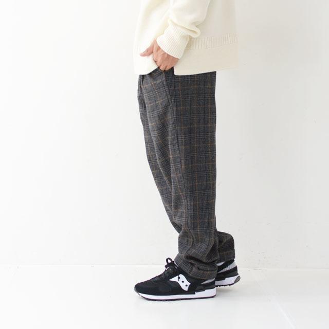 GRAMICCI [グラミチ] WOOL BLEND TUCK TAPERED PANTS [GMP-19F010] ウールブレンドタックテーパードパンツ・ワイドパンツ・ウールパンツ・MEN\'S_f0051306_13291565.jpg