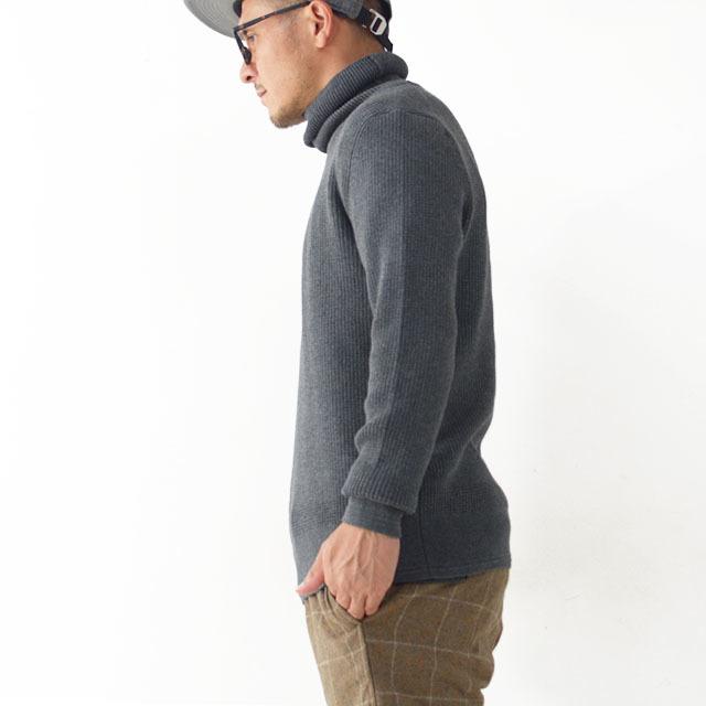 DELICIOUS [デリシャス] Cotton Turtleneck Sweater [DN4135] コットンタートルネックセーター・コットンニット・五泉ニットMEN\'S_f0051306_13434512.jpg