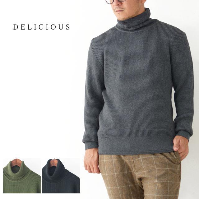 DELICIOUS [デリシャス] Cotton Turtleneck Sweater [DN4135] コットンタートルネックセーター・コットンニット・五泉ニットMEN\'S_f0051306_13434518.jpg