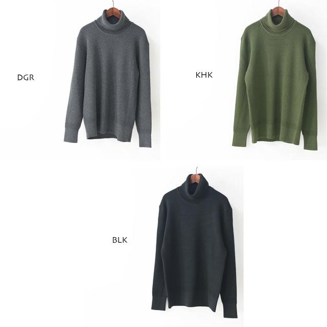 DELICIOUS [デリシャス] Cotton Turtleneck Sweater [DN4135] コットンタートルネックセーター・コットンニット・五泉ニットMEN\'S_f0051306_13434602.jpg