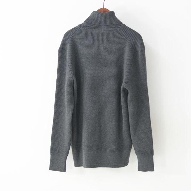 DELICIOUS [デリシャス] Cotton Turtleneck Sweater [DN4135] コットンタートルネックセーター・コットンニット・五泉ニットMEN\'S_f0051306_13434672.jpg