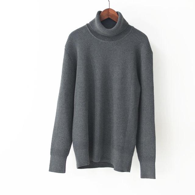 DELICIOUS [デリシャス] Cotton Turtleneck Sweater [DN4135] コットンタートルネックセーター・コットンニット・五泉ニットMEN\'S_f0051306_13434693.jpg