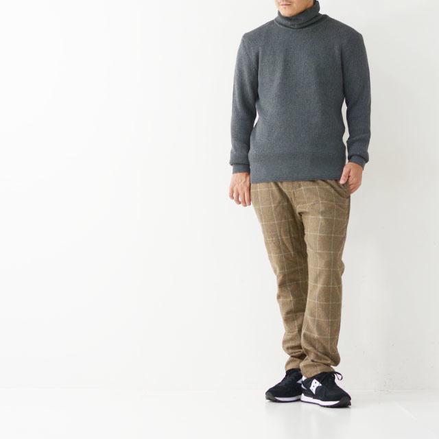 DELICIOUS [デリシャス] Cotton Turtleneck Sweater [DN4135] コットンタートルネックセーター・コットンニット・五泉ニットMEN\'S_f0051306_13434695.jpg
