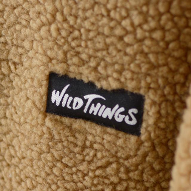 WILD THINGS [ワイルドシングス] FLUFFY BOA NO COLLAR JACKET [WT19118N] フラッフィー ボア ノーカラージャケット MEN\'S/LADY\'S_f0051306_13492993.jpg