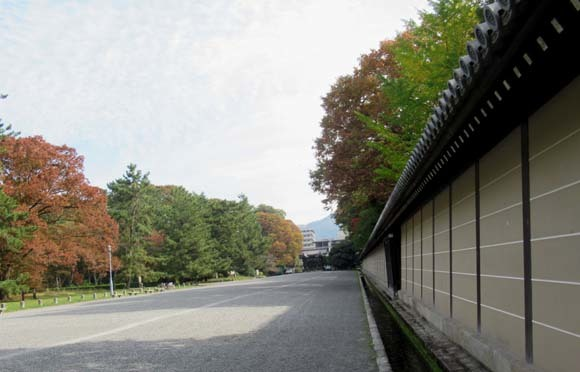秋がスピードアップ 京都御苑_e0048413_19450311.jpg