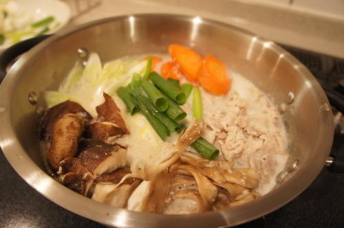 【創味シャンタンで!牛乳生姜鍋(レシピ)】_f0215714_16365412.jpg