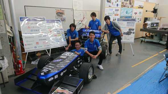 静岡文化芸術大学で車両展示しました。_c0139127_14414623.jpg