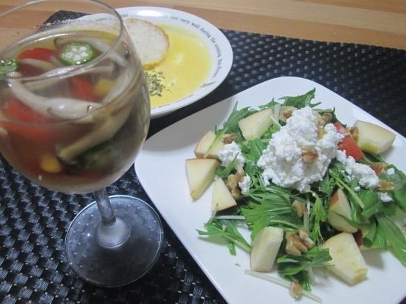 水菜 簡単