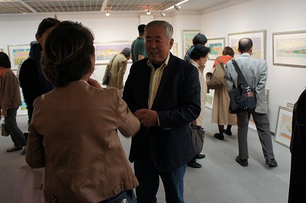 イシイタカシ情景画展 開催中です。_f0171840_14432168.jpg