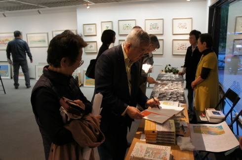 イシイタカシ情景画展 開催中です。_f0171840_15110191.jpg