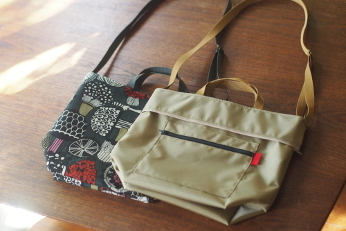 "「reversible bag ""light\""」にファスナートップ_e0243765_15293812.jpg"