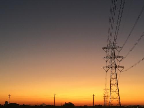 夕空が綺麗!_b0111791_16594922.jpg