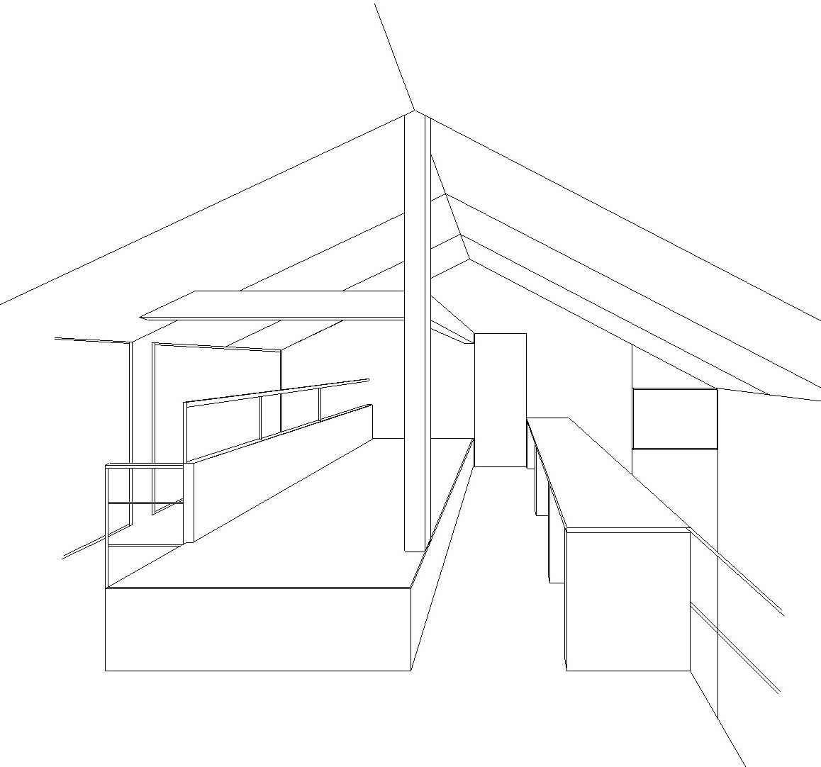 小屋裏感のある2階共用ゾーン_b0183404_13214273.jpg