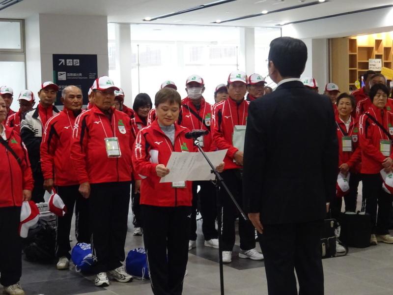 第32回全国健康福祉祭和歌山大会 青森県選手団結団式!!_d0366509_10584312.jpg