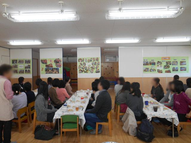うさぎ組・りす組 給食懇談会_e0148419_16451652.jpg