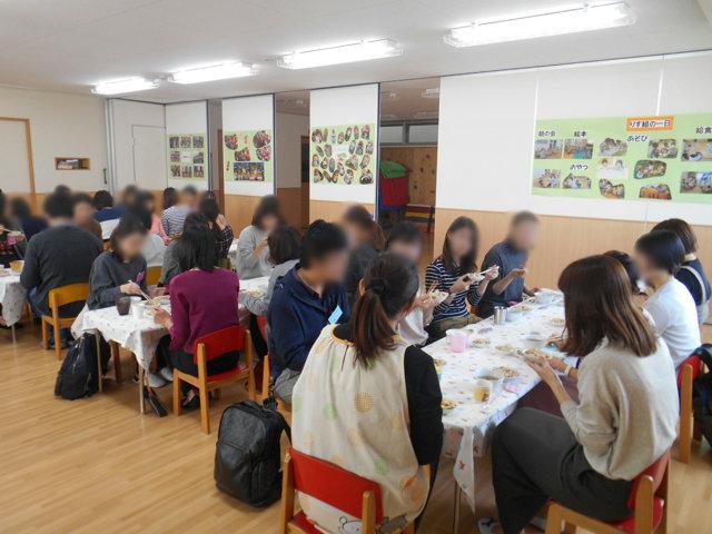 うさぎ組・りす組 給食懇談会_e0148419_1646208.jpg