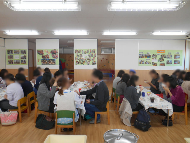 うさぎ組・りす組 給食懇談会_e0148419_16463380.jpg