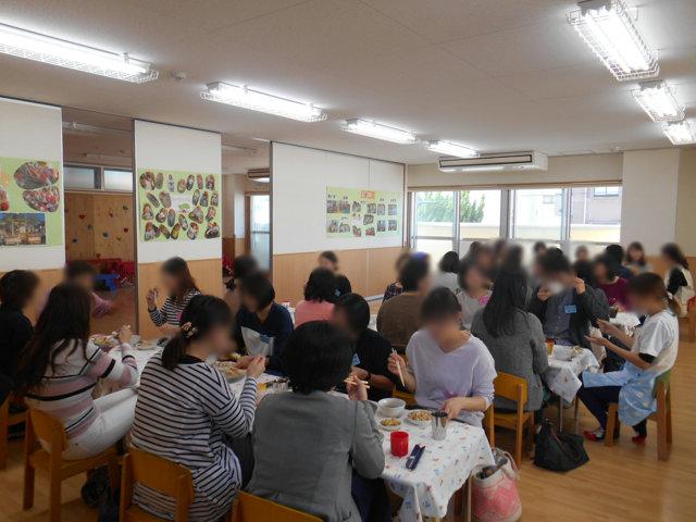 うさぎ組・りす組 給食懇談会_e0148419_1646521.jpg