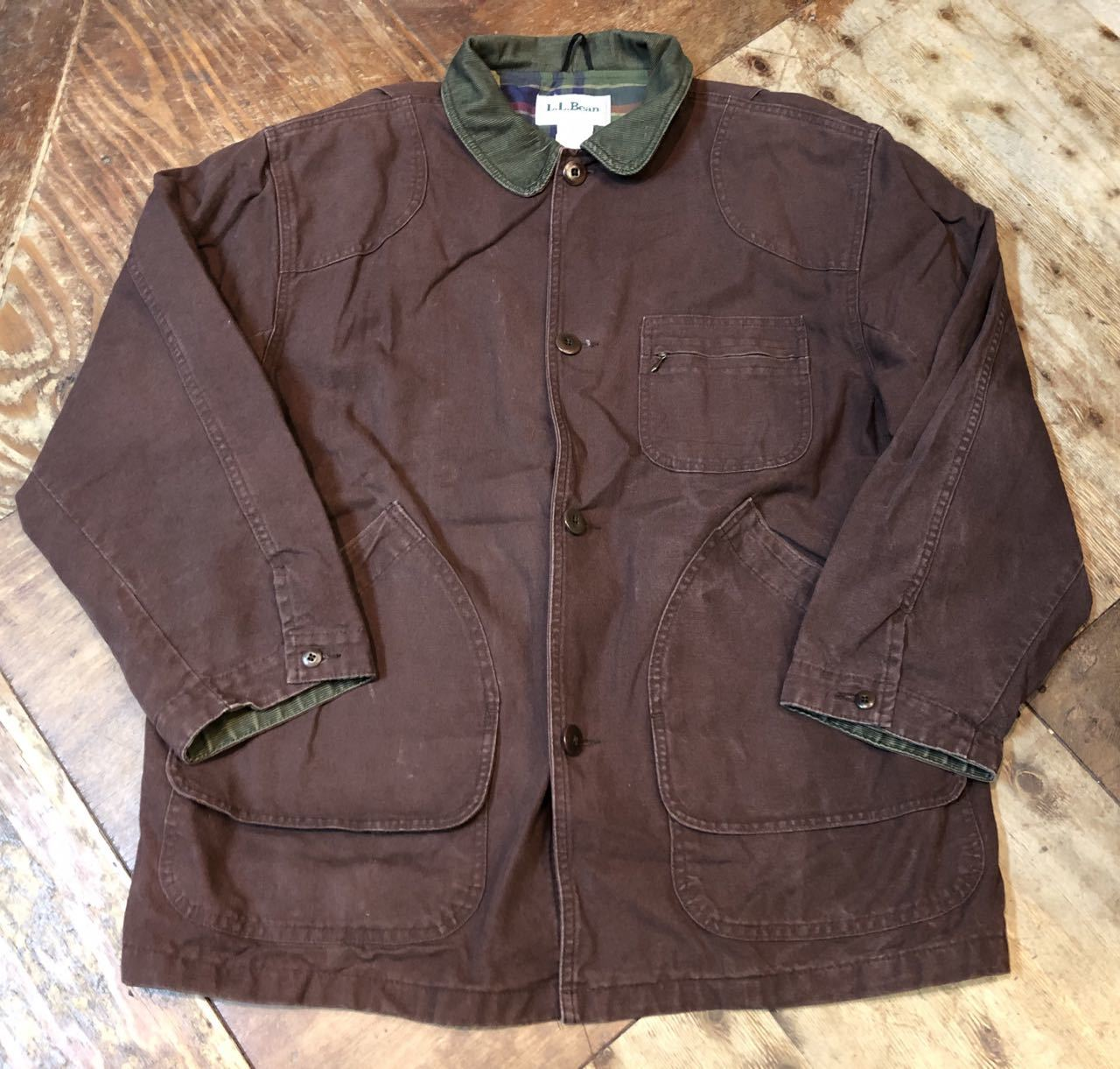 11月9日(土)入荷!L.L BEAN MADE IN U.S.A  HUNTING JACKET !_c0144020_13423202.jpg
