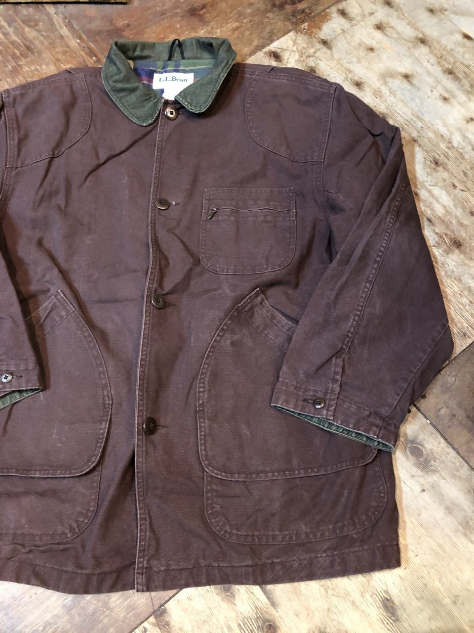 11月9日(土)入荷!L.L BEAN MADE IN U.S.A  HUNTING JACKET !_c0144020_13423206.jpg