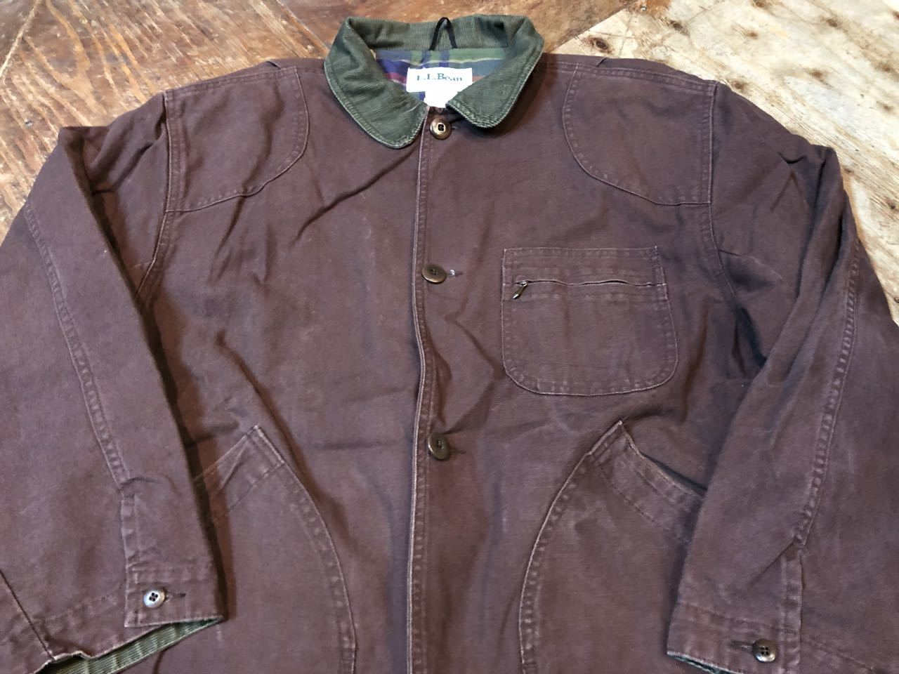 11月9日(土)入荷!L.L BEAN MADE IN U.S.A  HUNTING JACKET !_c0144020_13423543.jpg