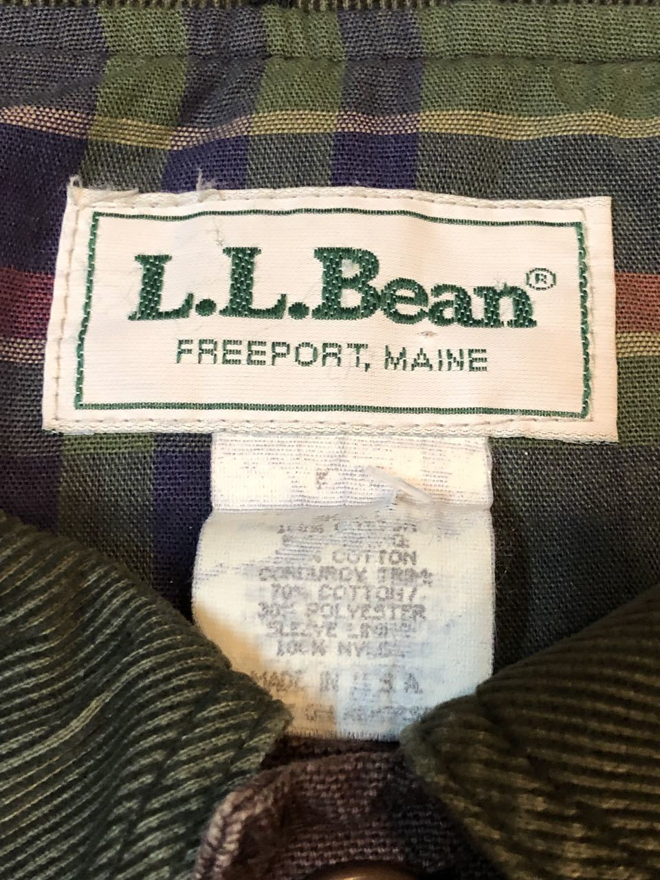 11月9日(土)入荷!L.L BEAN MADE IN U.S.A  HUNTING JACKET !_c0144020_13423741.jpg
