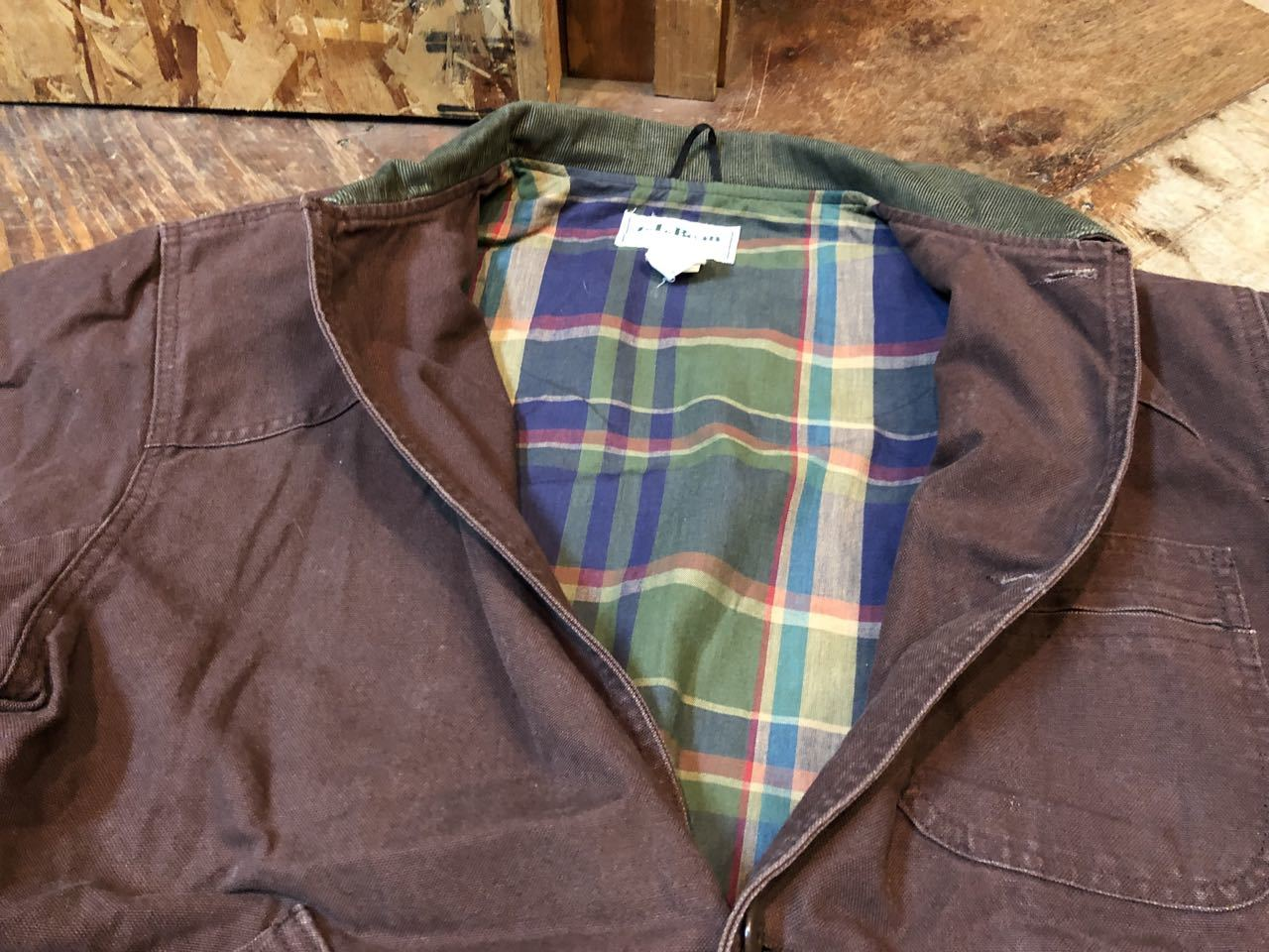 11月9日(土)入荷!L.L BEAN MADE IN U.S.A  HUNTING JACKET !_c0144020_13531456.jpg