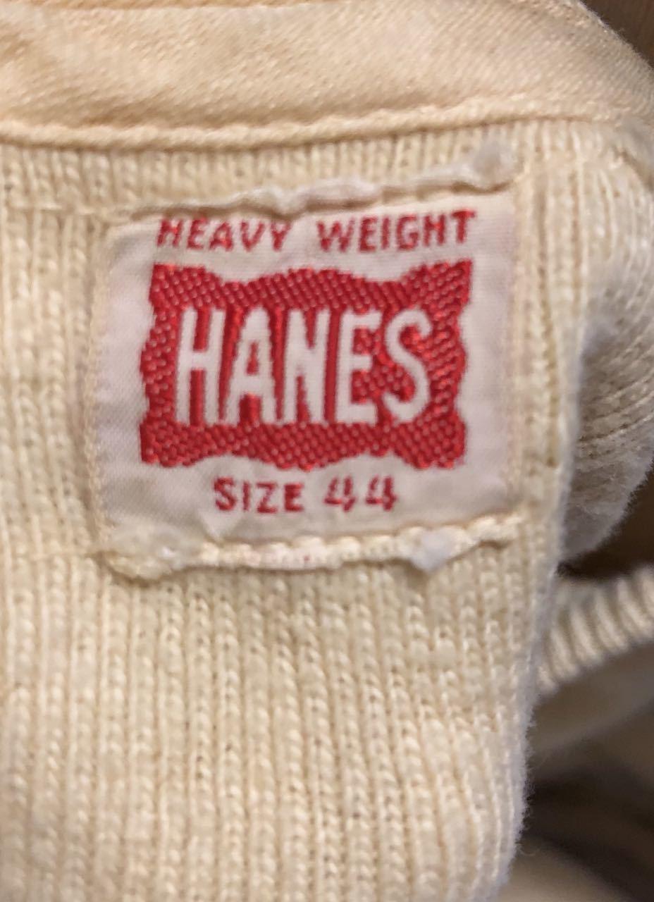 11月9日(土)入荷!40s〜HANES ヘインズ ヘンリーネックシャツ!_c0144020_14030455.jpg