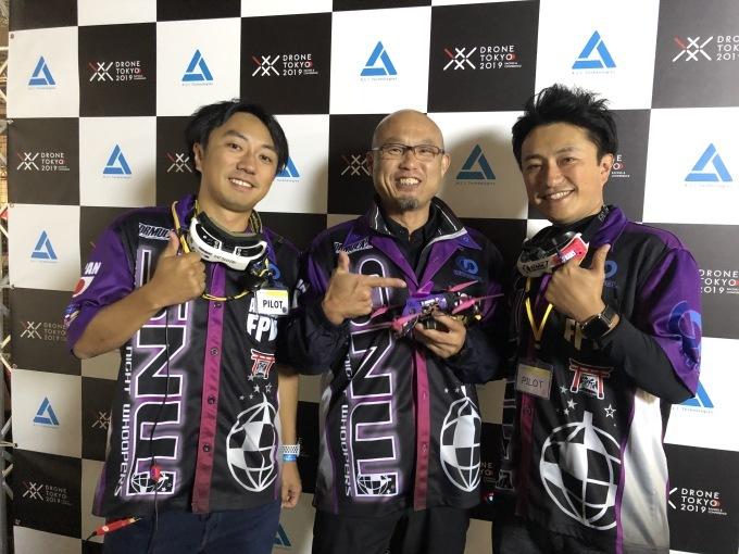 『FAI公認DRONE TOKYO 2019』②決勝_b0147922_14245475.jpg