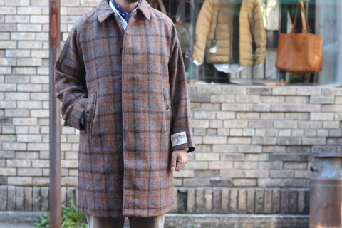 "「WORKERS」 ""Bal Collar Coat, Harris Tweed\"" ご紹介_f0191324_07571227.jpg"
