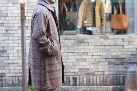 "「WORKERS」 ""Bal Collar Coat, Harris Tweed\"" ご紹介_f0191324_07572000.jpg"
