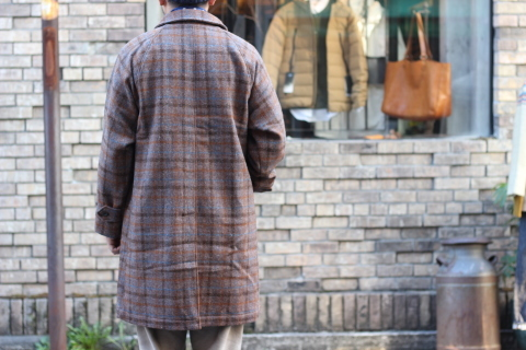 "「WORKERS」 ""Bal Collar Coat, Harris Tweed\"" ご紹介_f0191324_07572820.jpg"
