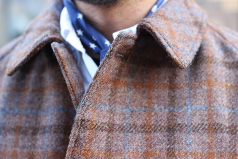 "「WORKERS」 ""Bal Collar Coat, Harris Tweed\"" ご紹介_f0191324_07573511.jpg"