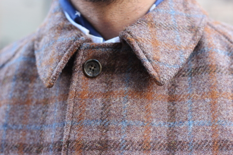 "「WORKERS」 ""Bal Collar Coat, Harris Tweed\"" ご紹介_f0191324_07574033.jpg"