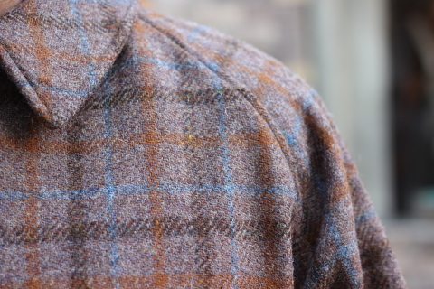"「WORKERS」 ""Bal Collar Coat, Harris Tweed\"" ご紹介_f0191324_07575025.jpg"