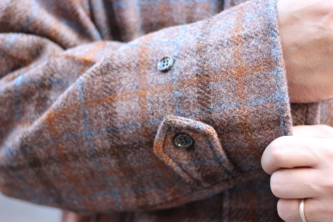 "「WORKERS」 ""Bal Collar Coat, Harris Tweed\"" ご紹介_f0191324_07575816.jpg"