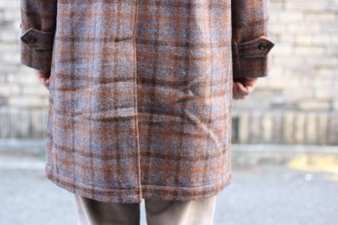 "「WORKERS」 ""Bal Collar Coat, Harris Tweed\"" ご紹介_f0191324_07581767.jpg"