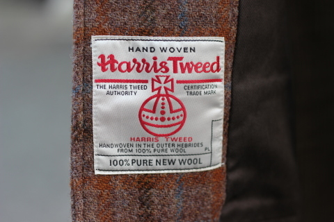 "「WORKERS」 ""Bal Collar Coat, Harris Tweed\"" ご紹介_f0191324_07583460.jpg"