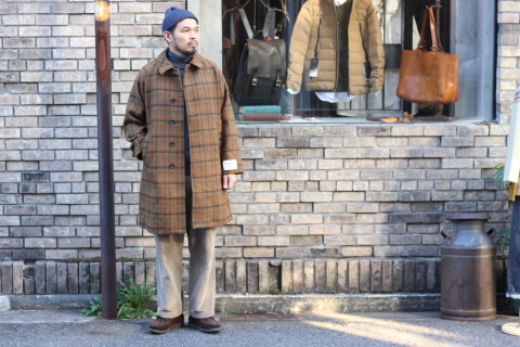 "「WORKERS」 ""Bal Collar Coat, Harris Tweed\"" ご紹介_f0191324_07590717.jpg"