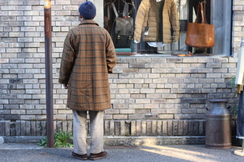 "「WORKERS」 ""Bal Collar Coat, Harris Tweed\"" ご紹介_f0191324_07591876.jpg"